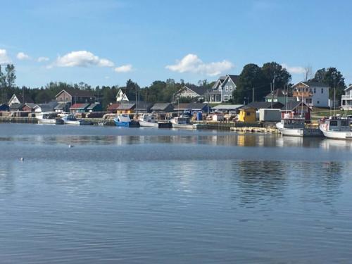 Prince Edward Island: North Rustico fishing village